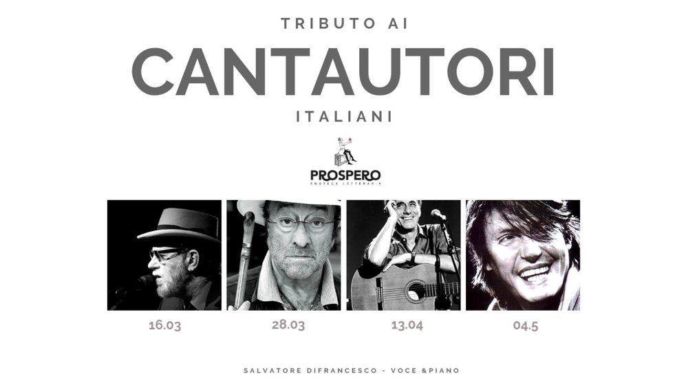 tributo ai cantautori italiani