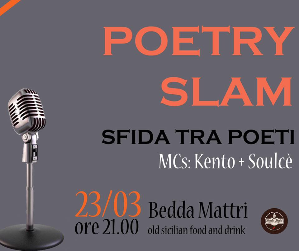 poetry slam-sfida tra poeti