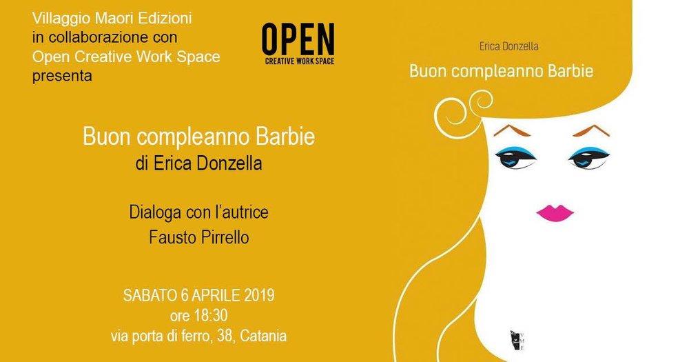 buon compleanno barbie-erica donzella-open Catania