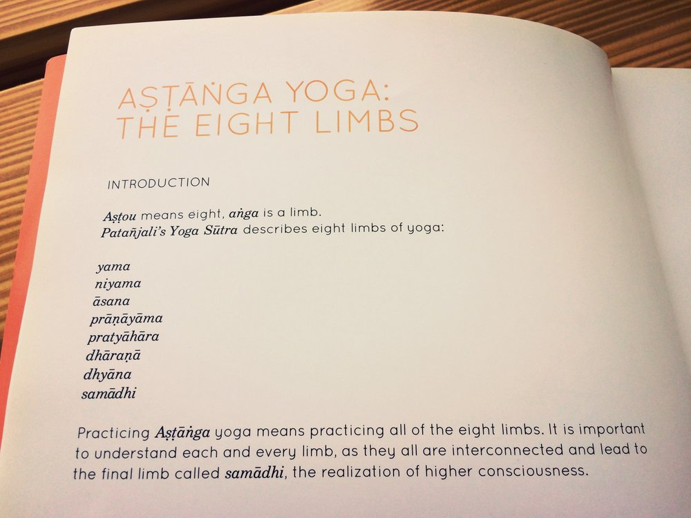 "From the book: ""Ashtanga Yoga Anusthana"" by R. Sharath Jois, current lineage holder"