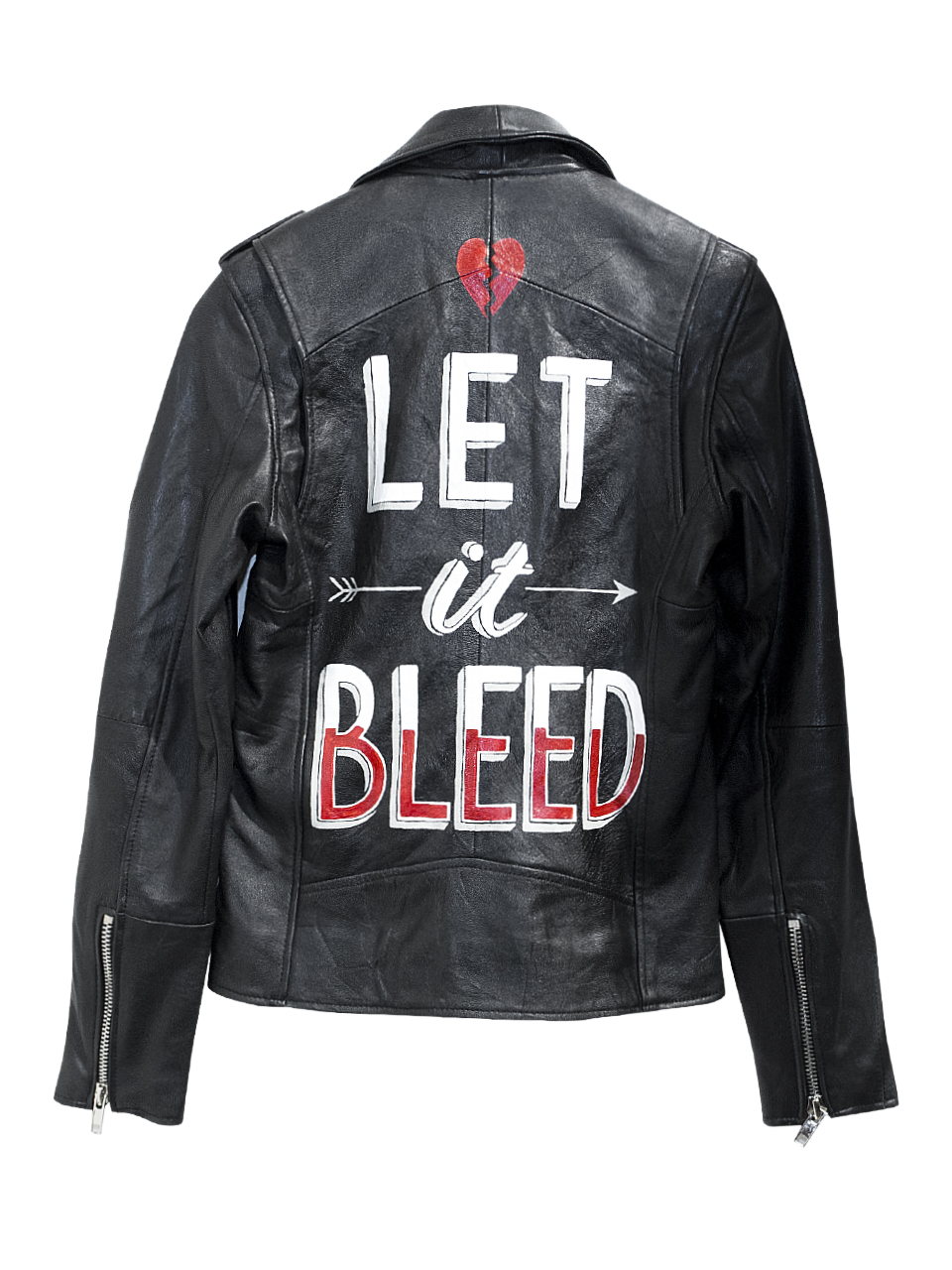 Deadwood Let It Bleed Leather Jacket