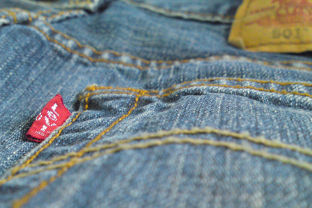 Vintage Levis. Photo credit: Blake Burkhart - Flickr