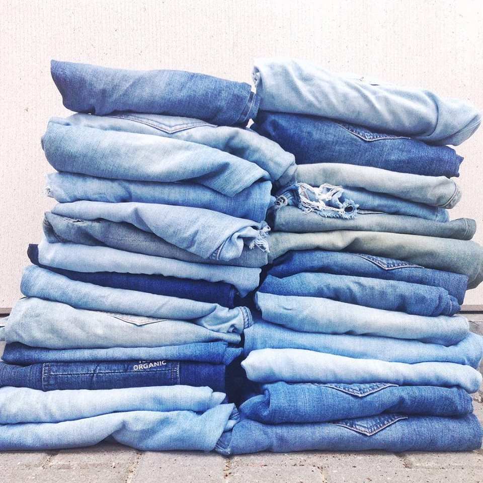 Mud Jeans (Netherlands) offers a new way model of guilt free consumption with their leased and recycled jeans    http://www.mudjeans.eu/