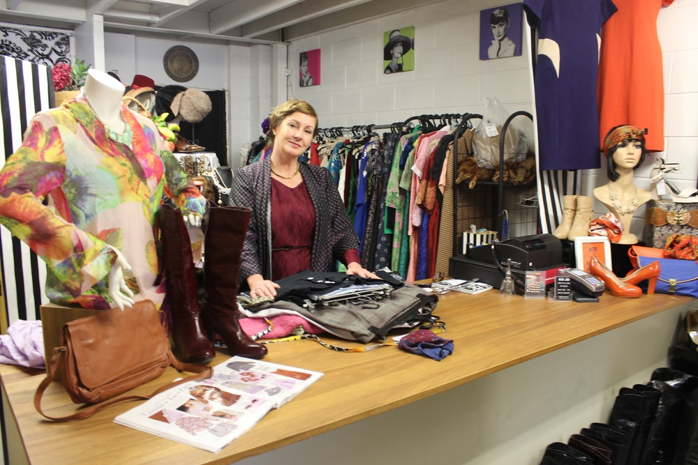 Jo Bratton, the owner of Go Jo Recycled Clothing
