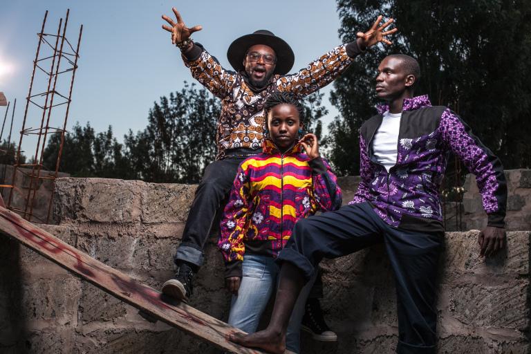 Kenyan based afro-urban streetwear label  Chilimango