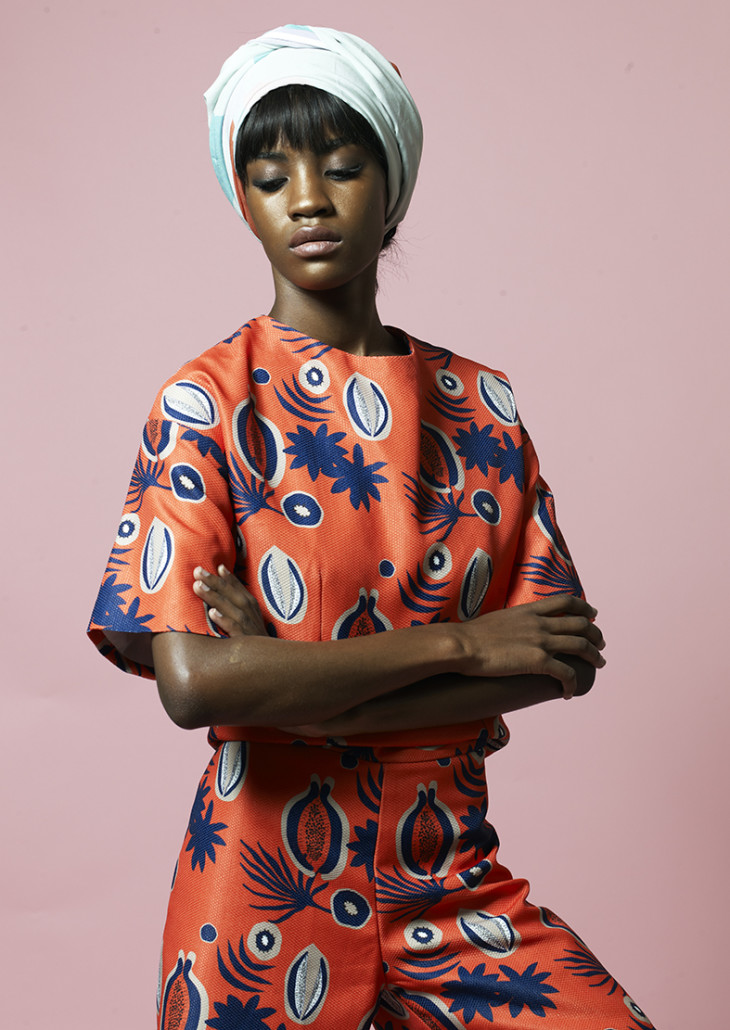 Sindiso Khumalo  is a London based South African designer