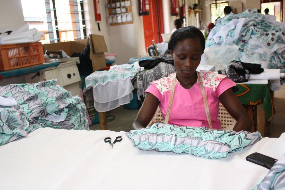 SOKO staff member Patricia