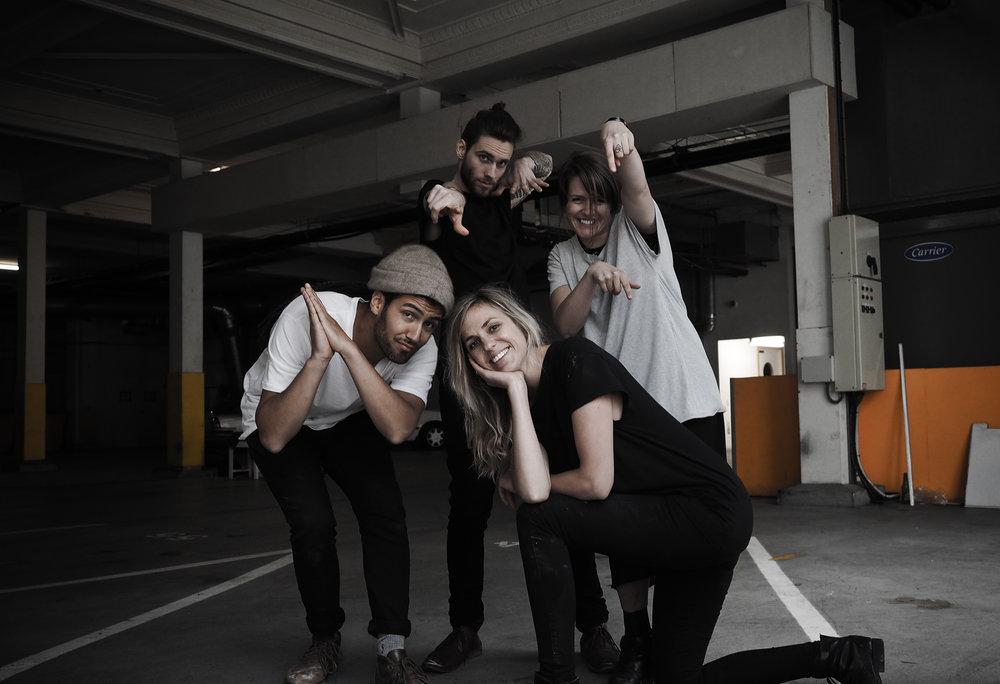 The Bones squad.