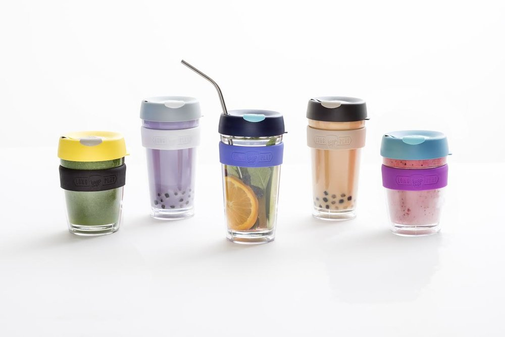 KeepCup LongPlay series with twin glass wall NZD $36