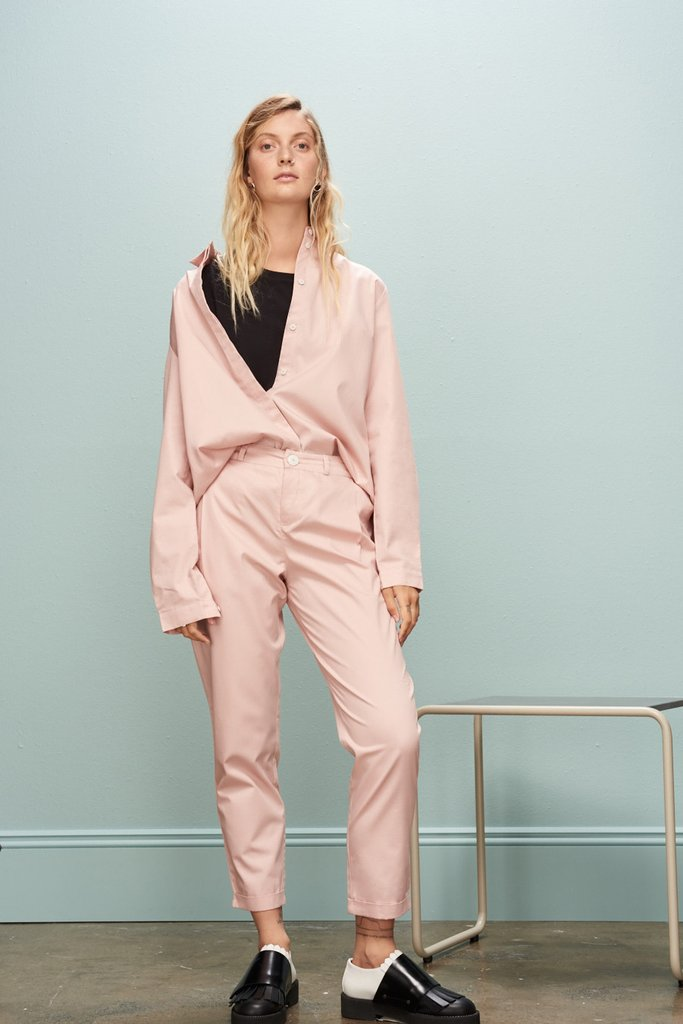 Classic Pant in Rose NZD $199