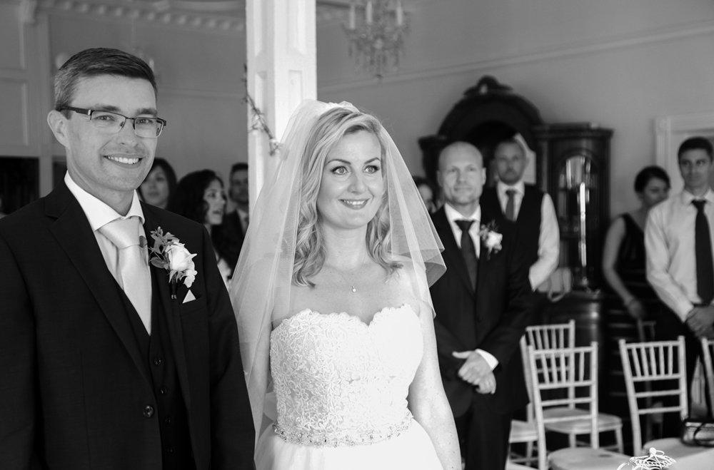 Kasia & Neil Berwick Lodge Wedding Photography © Ian Wade Wedding Photography