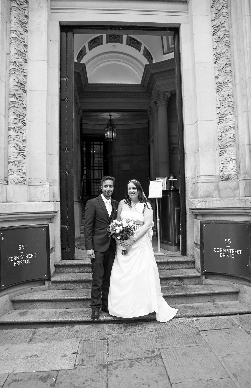 Holly & Azhar Bristol Register Office & The Grand Hotel.