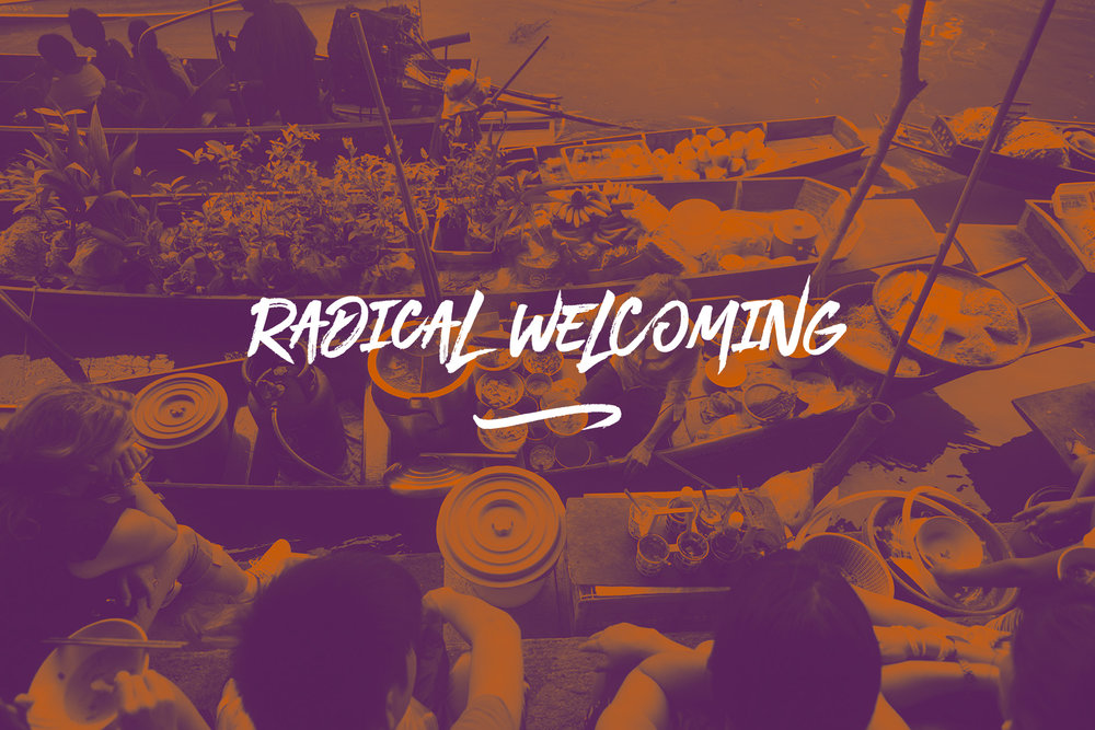 We share a nomadic nature and therefore we are at home anywhere. This requires an overall belief in radical welcoming. Newropa is too dense and fluid to insist or rely on borders. We want to have open arms, minds and hearts beyond borders. We are whole-heartedly open and foster  [Radical Welcoming] .