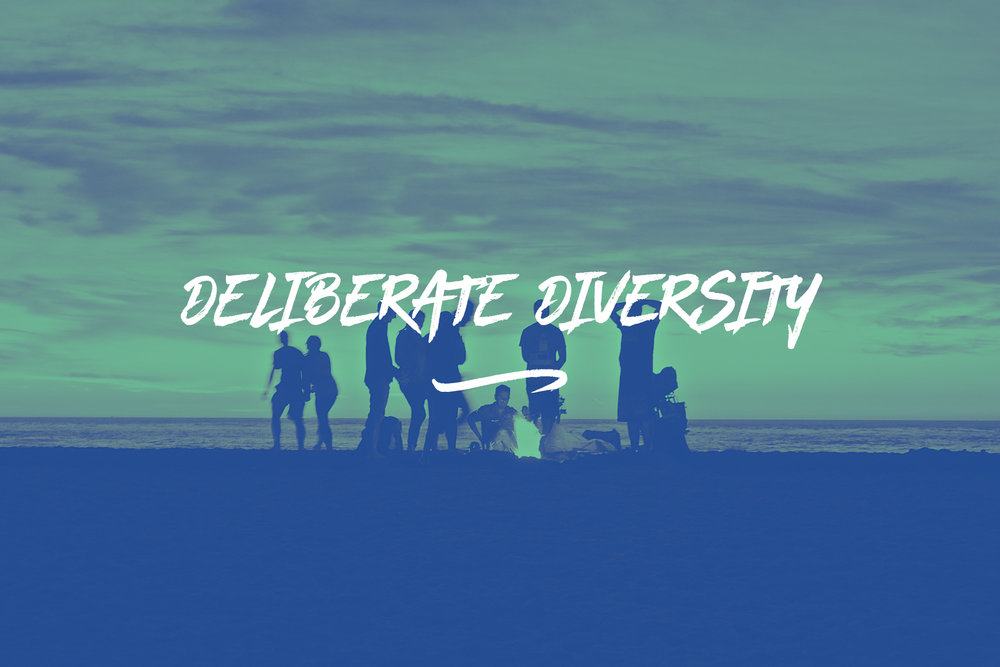 We know that one of the most valuable things we have is the cultural diversity within Europe. It has grown over centuries and we deliberately nurture and support it. We call it  [Deliberate Diversity] .