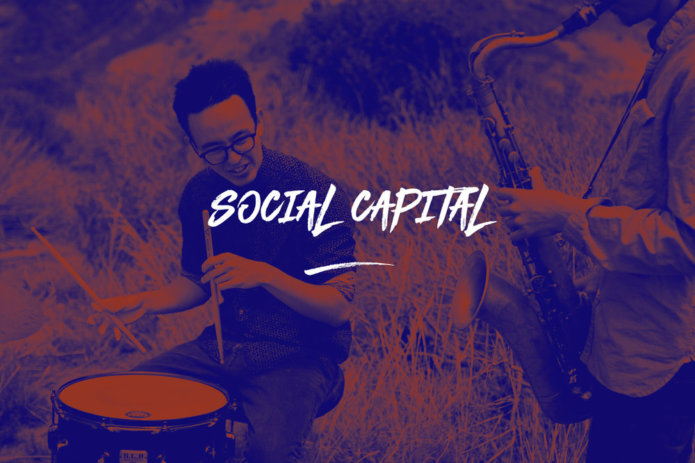 We know that the gross national product is important and that economic success and personal wealth is nice. But we also strongly believe in social capital – one that is based on  [reciprocity, trust and the common good] . This is fundamental for a society to flourish. We want to be socially sustainable and invest in our collective social capital.