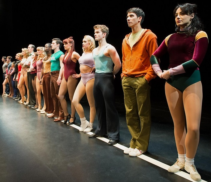 Playing Paul in A Chorus Line at the London Palladium.