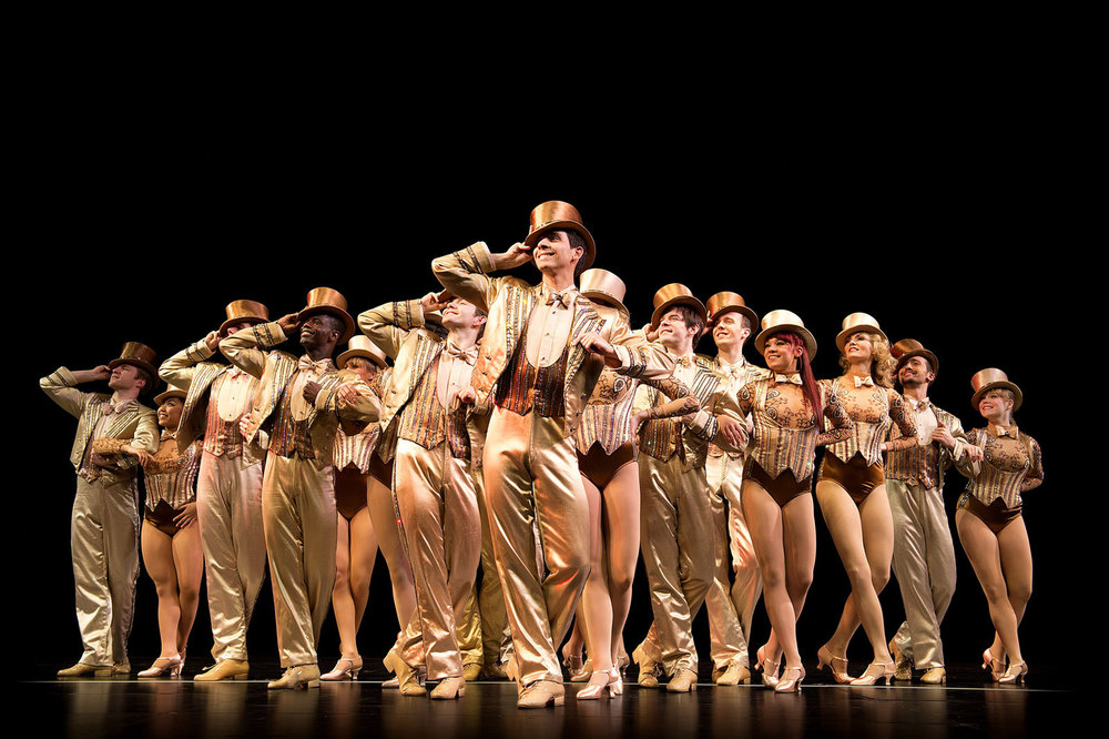 Playing Paul in A Chorus Line at the London Palladium. Photo by Manuel Harlan.