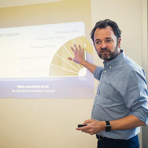 David Madié teaching