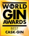 Winner World's Best Cask Gin - 2016 World Gin Awards