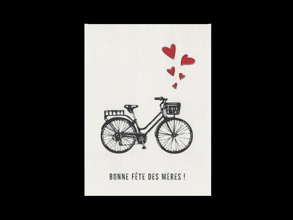 Super Carte <i>Bonne fête des mères !</i> — La Clochette Argentée IC79