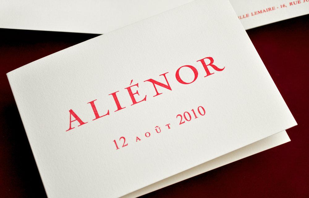 Copy of ALIÉNOR