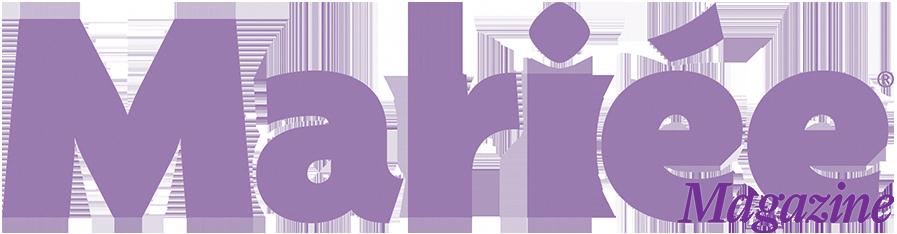 Mariee magazine logo mariage faire-part