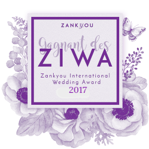ziwa zankyou award wedding 2017 logo mariage faire-part