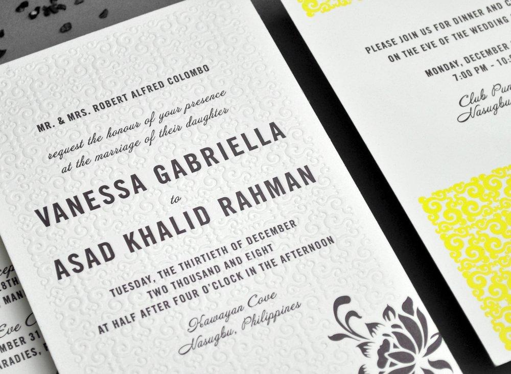 impression letterpress creation sur-mesure