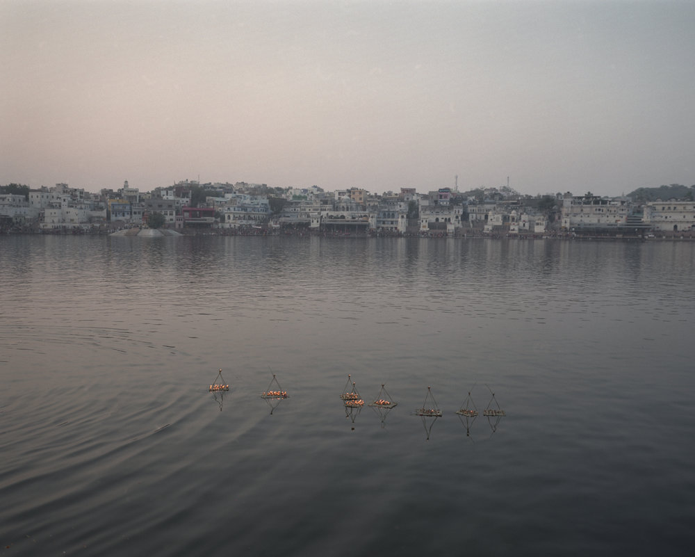 The Lake I, Pushkar 2016