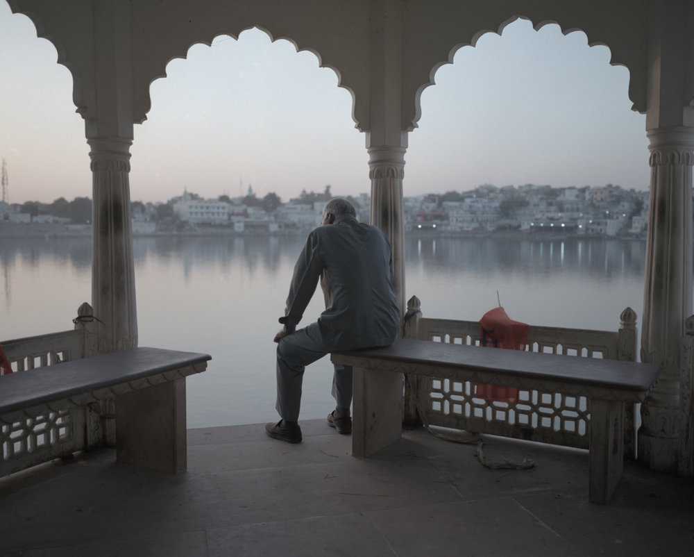 The Lake II, Pushkar 2016