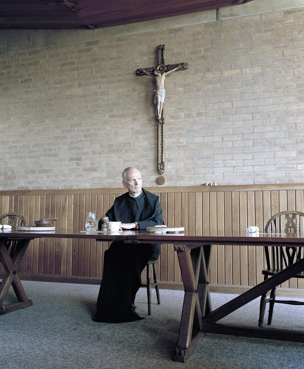 Father Leo, Downside Abbey 2015