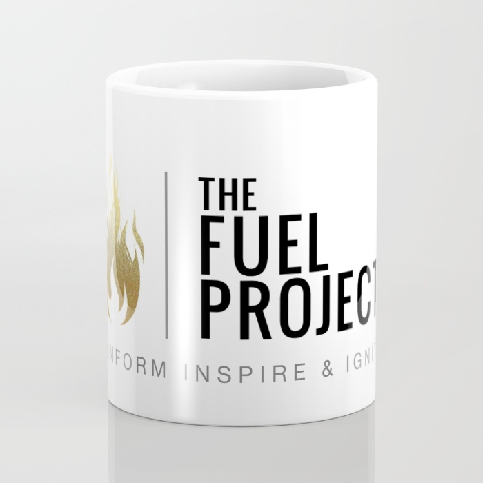 Fuel Logo Mug                    $15 11oz & 15oz Available
