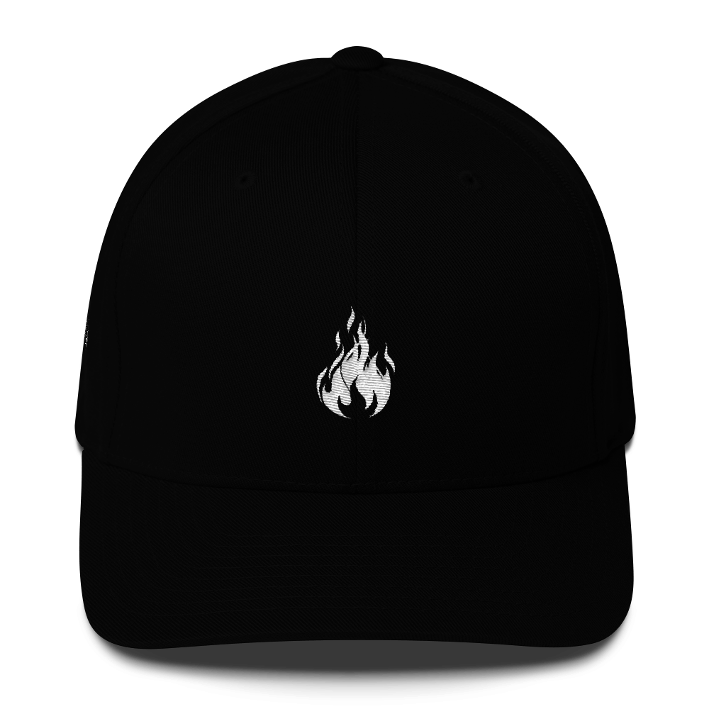 Flame Cap (Black) || $25