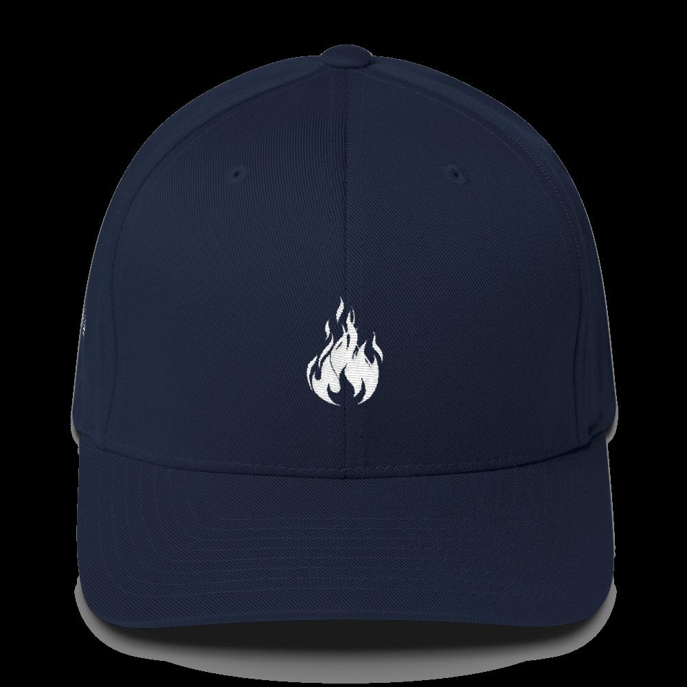 Flame Cap (Navy) || $25