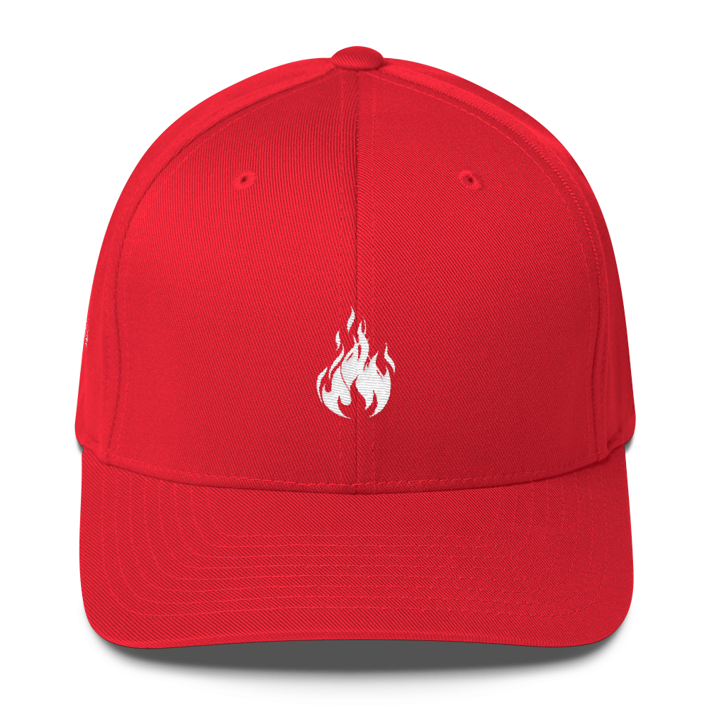 Flame Cap (Red) || $25