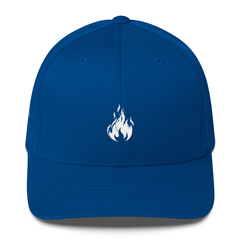 Flame Cap (Blue) || $25