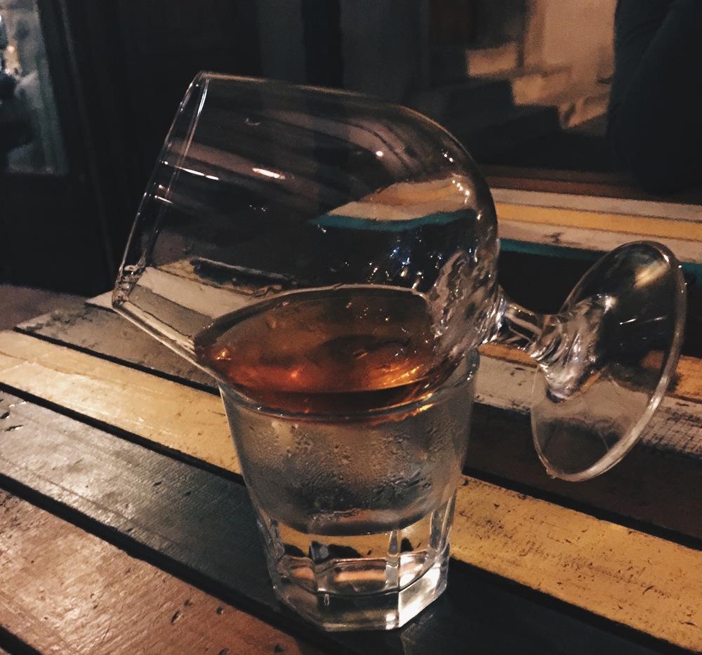 "Tis the season for Hennessy aka ""night time""."