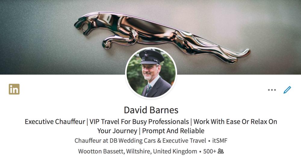 LinkedIn Profile view