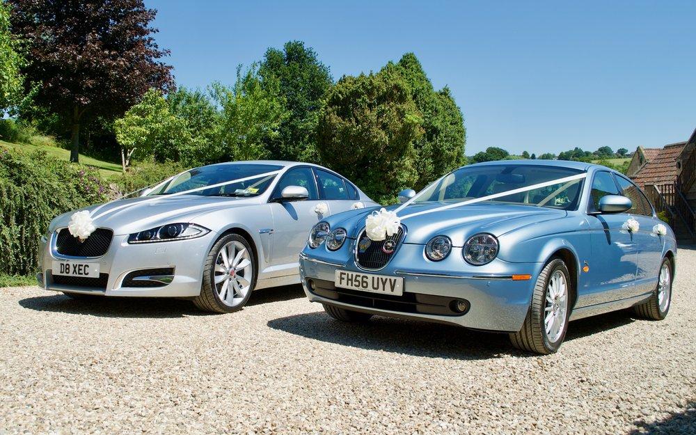 Jaguar XFS & Jaguar S Type Wedding Cars