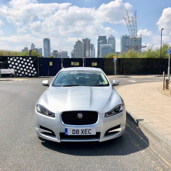 Jaguar XFS in London. VIP chauffeur. VIP Travel.