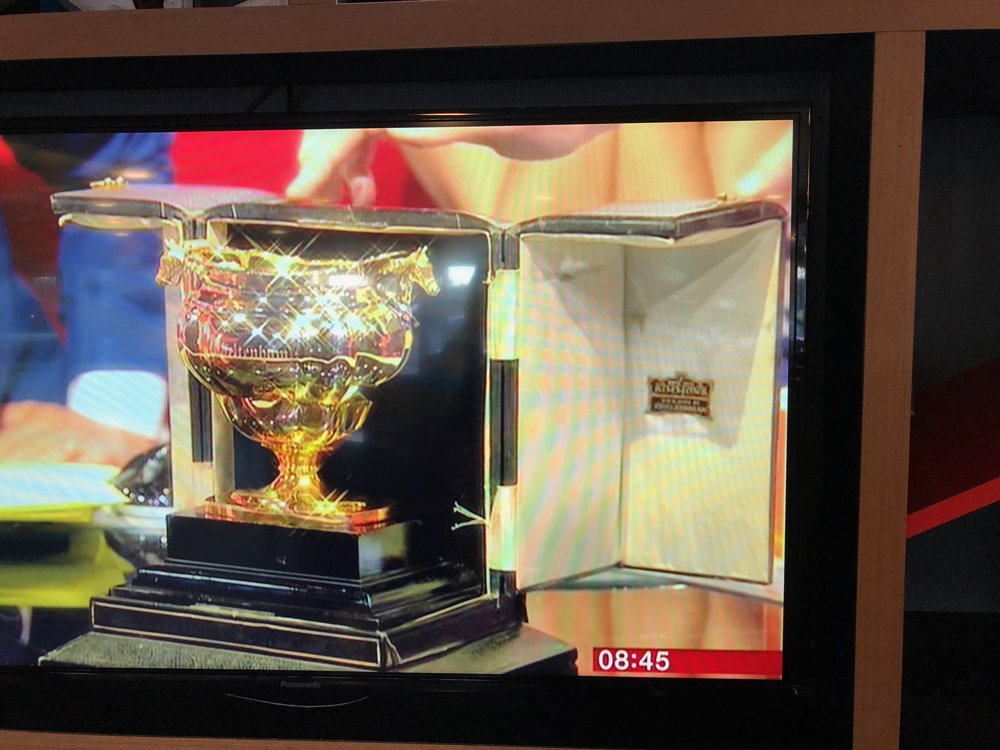 Cheltenham Gold Cup on TV at BBC Salford Studios