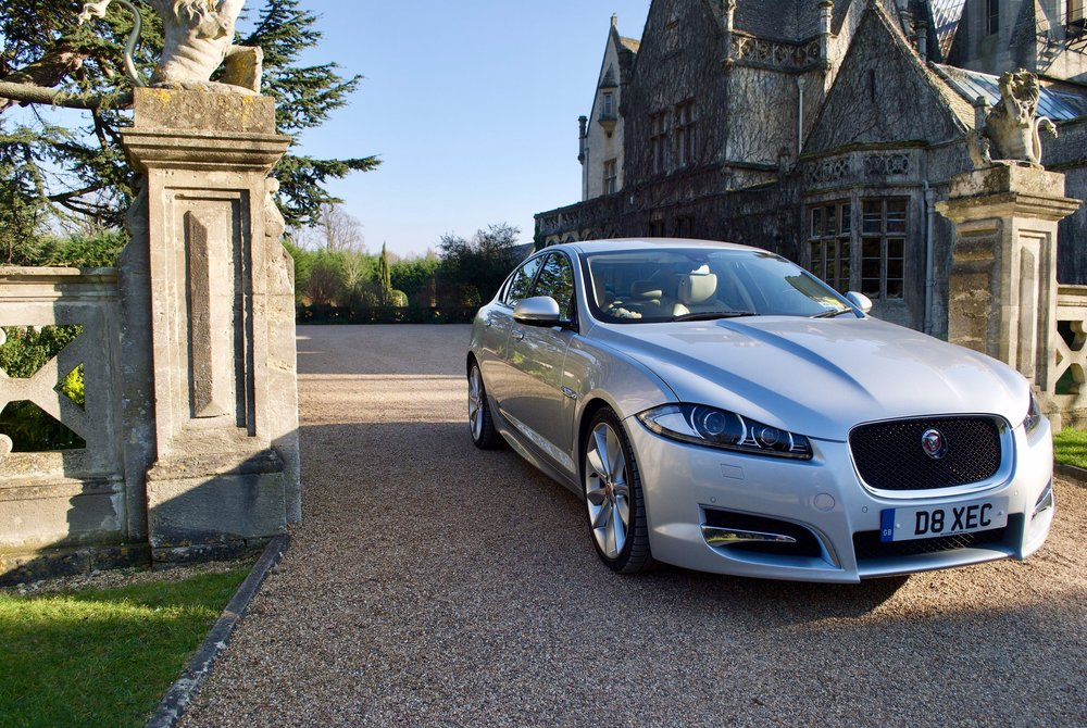 Jaguar XFS at Manor By The Lake