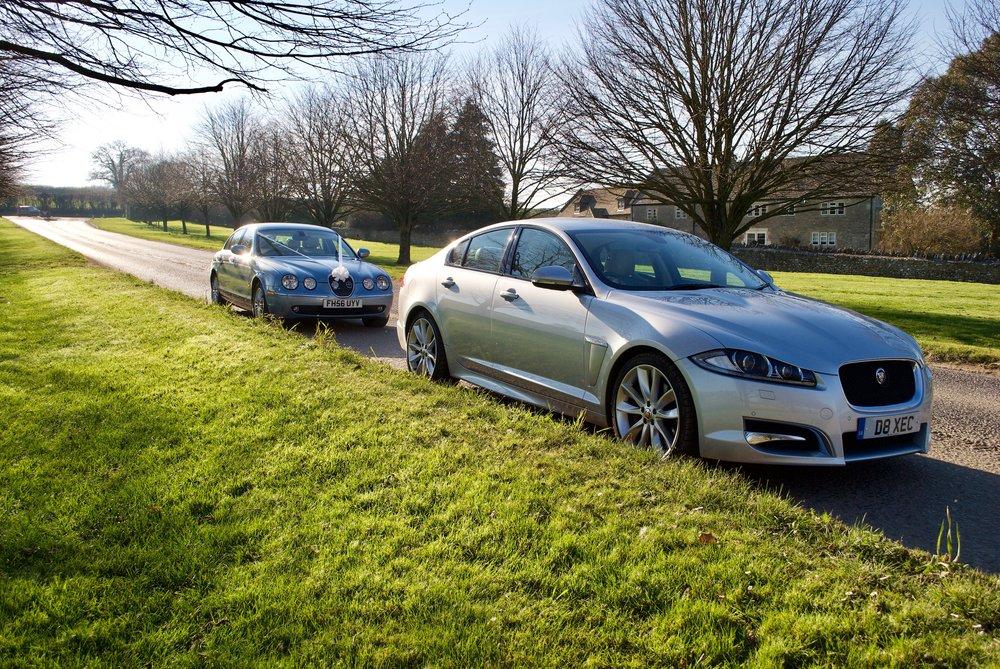 Jaguar S Type & Jaguar XFS at Cumberwell Park