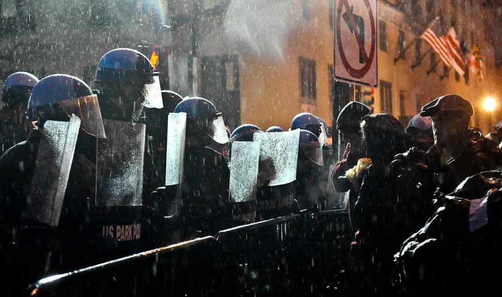 Eviction of Occupy K St, Washington DC. (Febuary 5th, 2012)