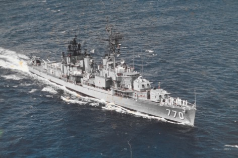 Three years on a destroyer and eighteen in the reserves helped distinguish between command and leadership.