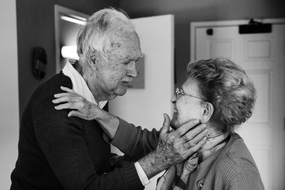 """Married for over 68 years, Henry """"Ward"""" and Eloise Hill both suffer from Alzheimer's disease. He was diagnosed first. Often times, he still remembers his wife."""