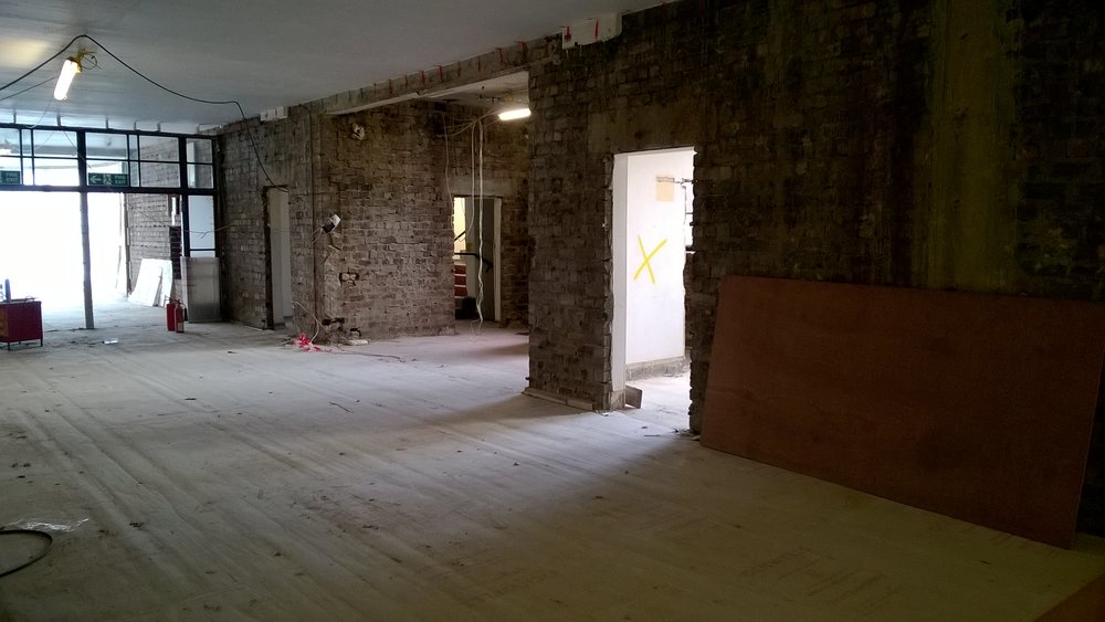 Ground floor corridor looking at shop position.jpg