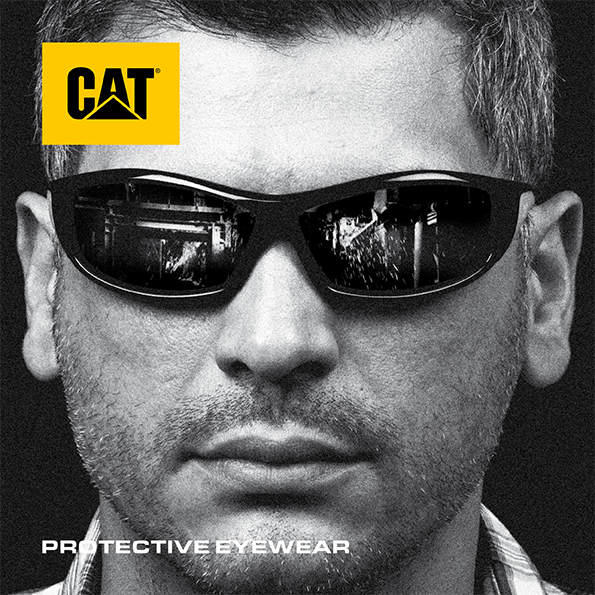 Click the image to download the CAT Protective Eyewear Brochure