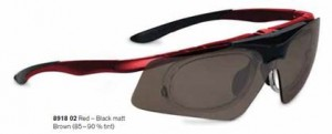 8918 - Similar to the 8915 but with a wider visor option which makes it preferable for cyclists as it offers better wind protection.  Also great for running, fishing, golf, cricket, tennis etc.  The visors are interchangeable and include polarised and low-light options.