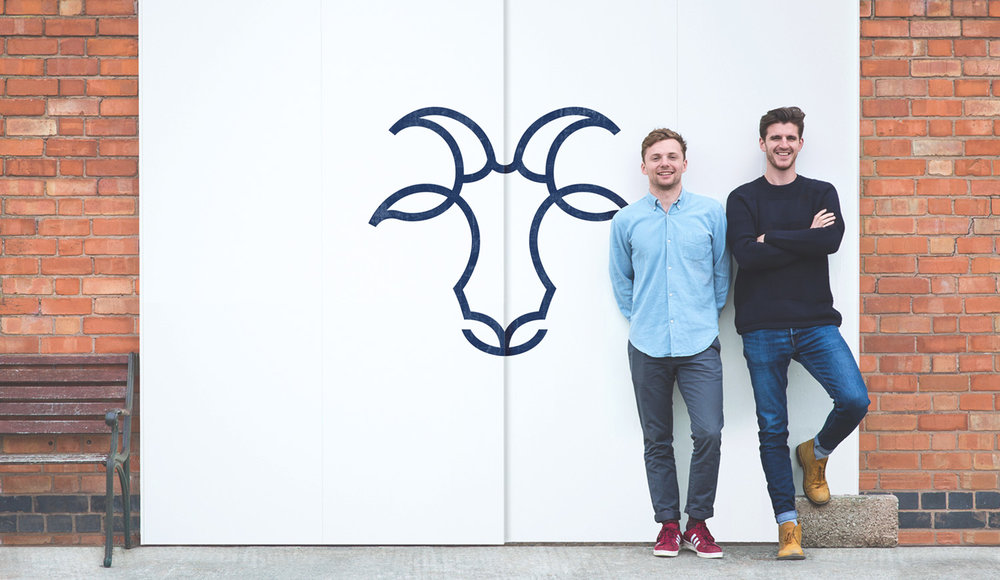Jack Millington and Rory Harker, founders of Billy Tannery, the first kid leather microtannery in the UK